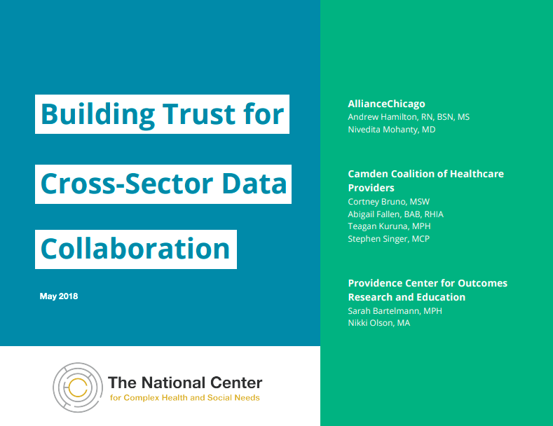 Building Trust for Cross-Sector Data Collaboration