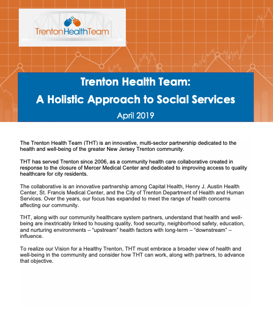 Trenton Health Team: A Holistic Approach to Social Services
