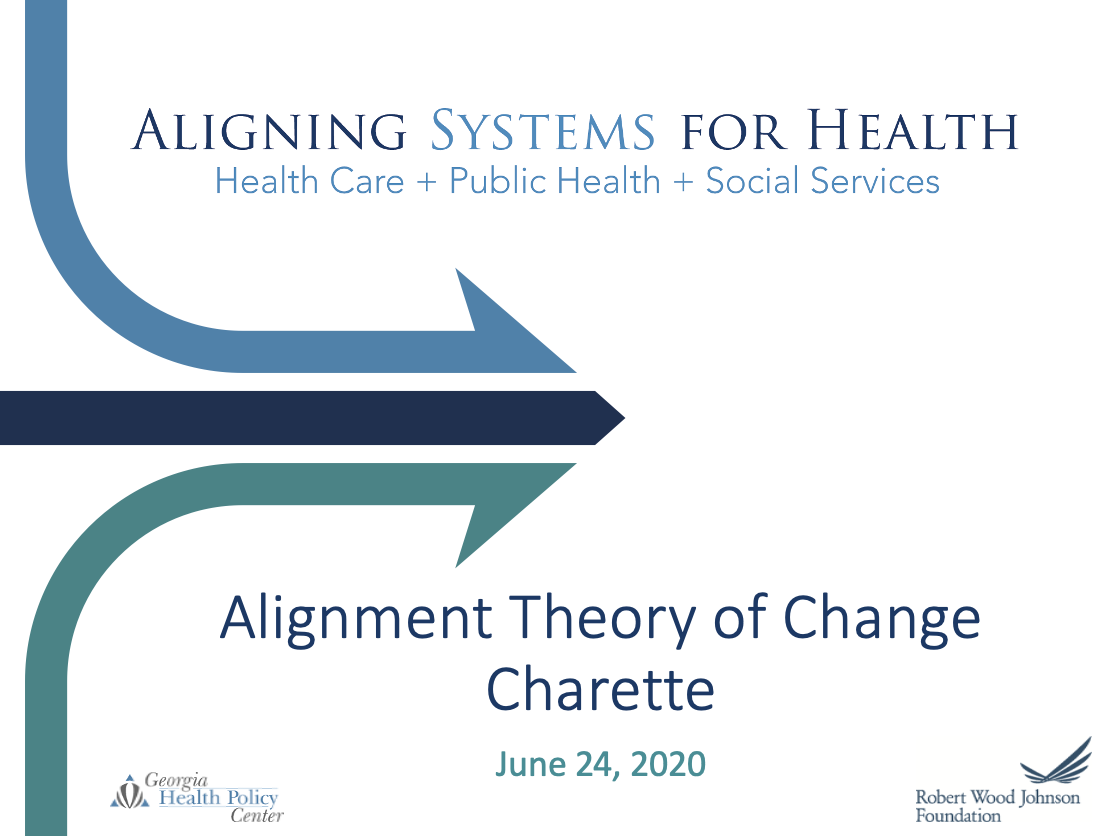 Aligning Systems For Health: Alignment Theory of Change - Charette