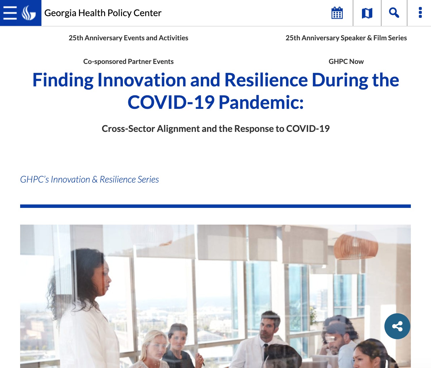 Finding Innovation and Resilience During the COVID-19 Pandemic