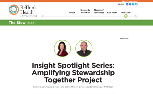 Insight Spotlight Series: Amplifying Stewardship Together Project