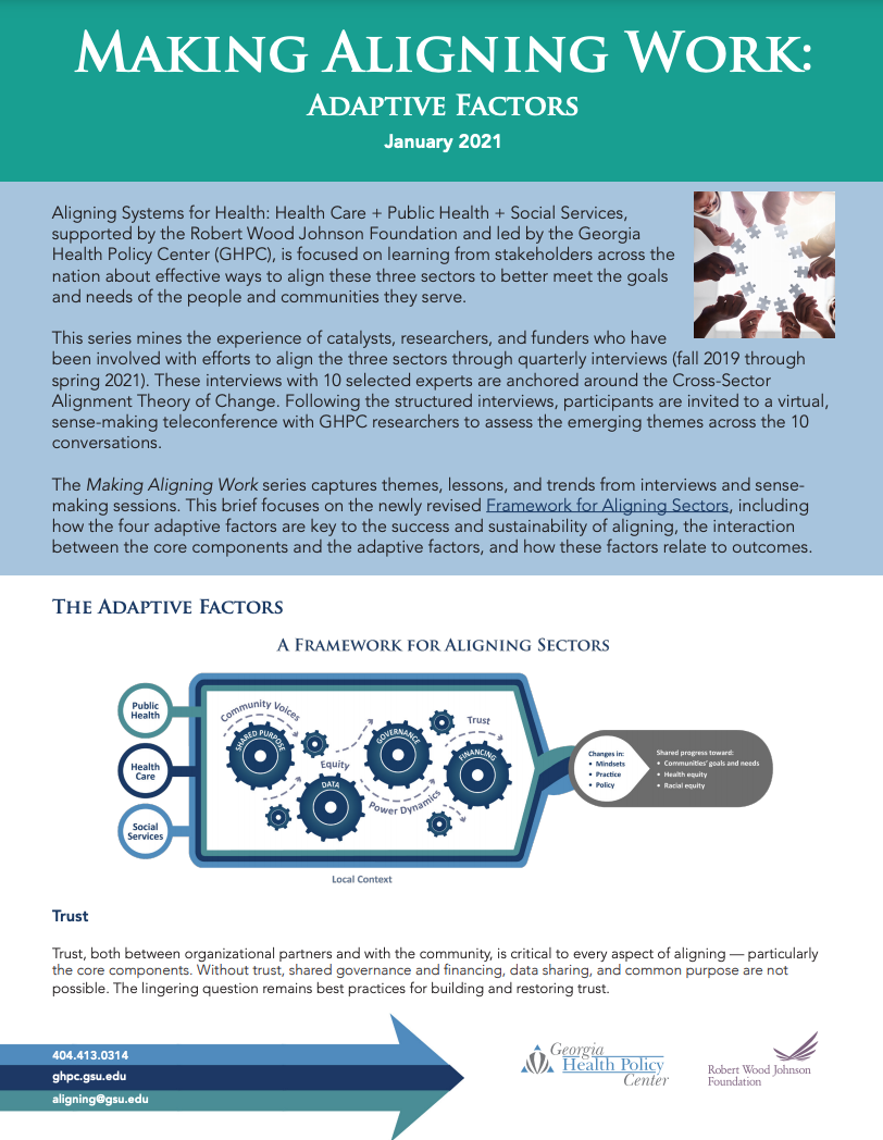 Making Aligning Work: Adaptive Factors
