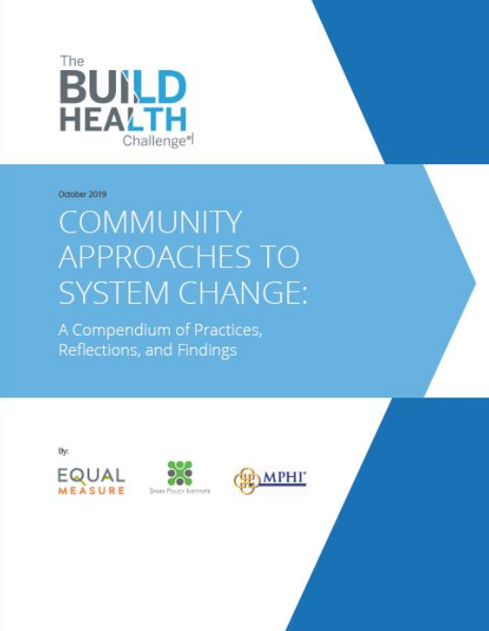 Community Approaches to System Change: A Compendium of Practices, Reflections, and Findings