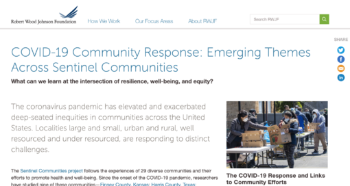 Collaboration in Communities to Address COVID-19