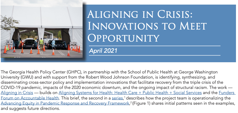 Aligning in Crisis: Innovations to Meet Opportunity