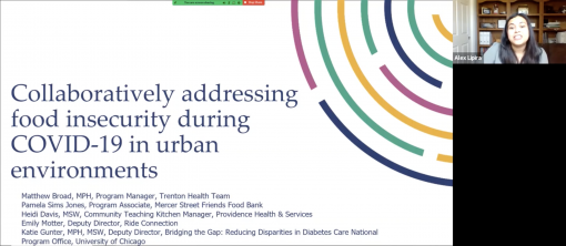 Collaboratively Addressing Food Insecurity During COVID-19 in Urban Environments