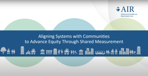 Co-Creation: A Principle of Shared Measurement to Align Systems and Communities towards Equity