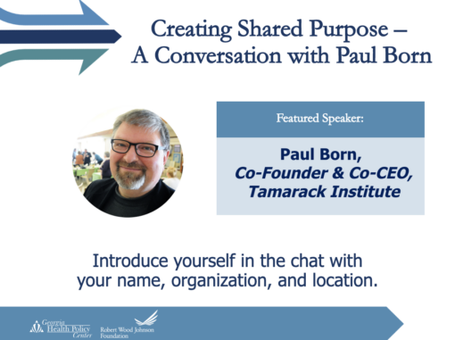 Creating Shared Purpose: A Conversation with Paul Born