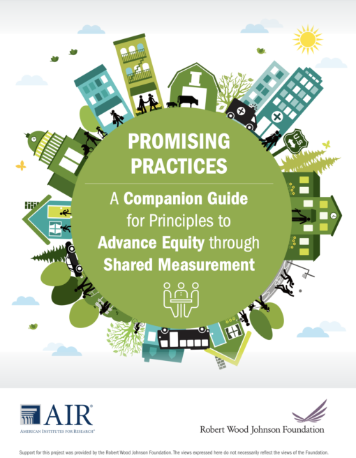Promising Practices: A Companion Guide for Principles to Advance Equity through Shared Measurement