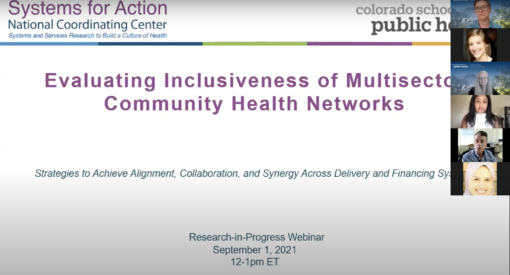 Evaluating Inclusiveness of Multisector Community Health Networks