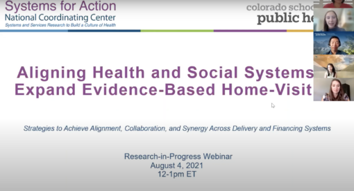 Aligning Health and Social Systems to Expand Evidence-Based Home-Visiting